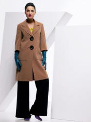 Wallis camel big button coat - 2006 Fashion History